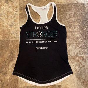 Pure Barre Challenge Finisher Tank XS